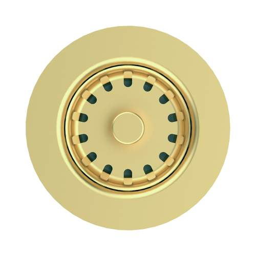 Clearwater 60mm PVD Waste in Brass