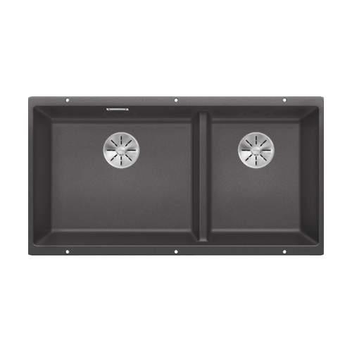 Blanco SUBLINE 480-320-U Silgranit 1.75 Bowl Undermount Kitchen Sink