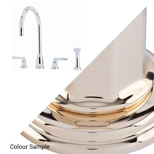 Perrin and Rowe CALLISTO 4891 Kitchen Tap with Rinse