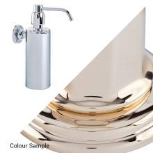 Perrin & Rowe 6473 Contemporary Wall Mounted Soap Dispenser