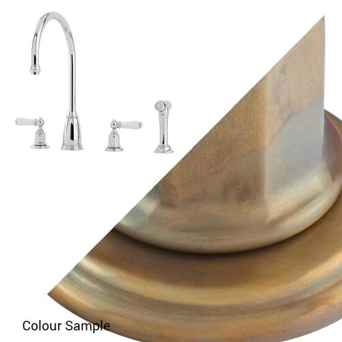 Perrin and Rowe ATHENIAN 4376 Kitchen Tap with Rinse