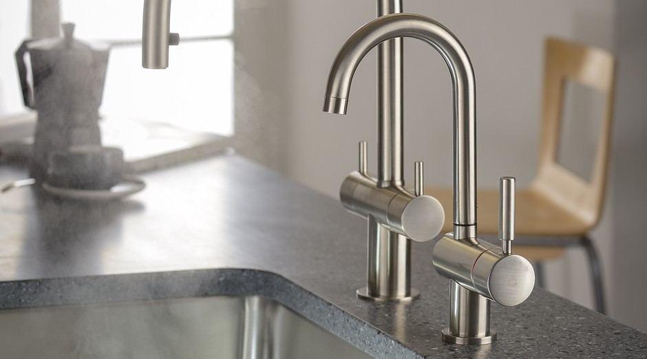 New Abode ProDuo and ProUno kitchen hot taps launched