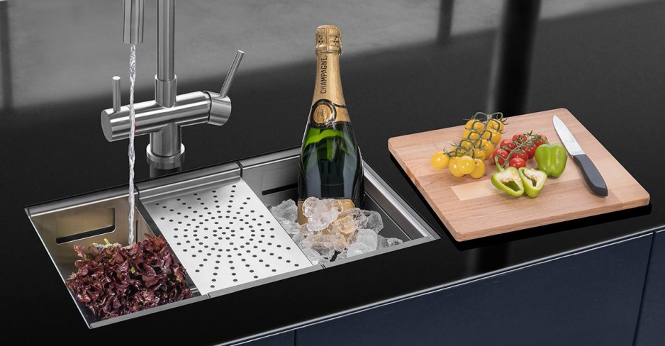 Caple Zona 100 kitchen sink